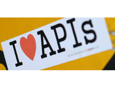 Apigee Heart APIs sticker