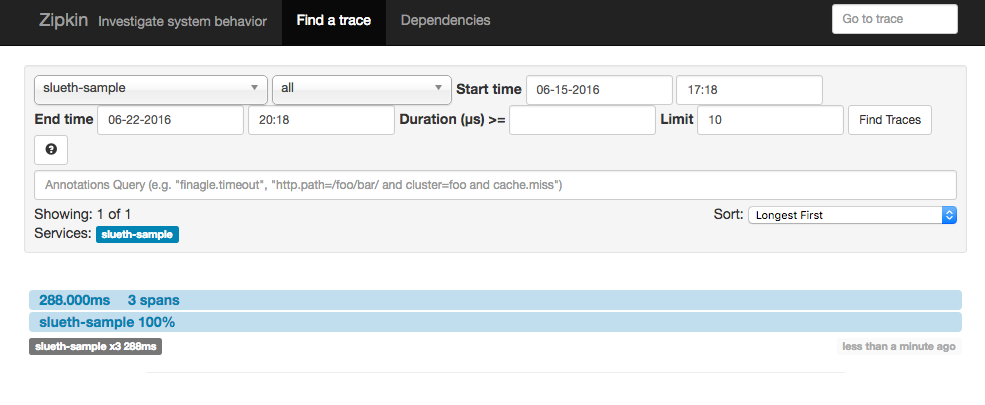 Tracing In Microservices With Spring Cloud Sleuth